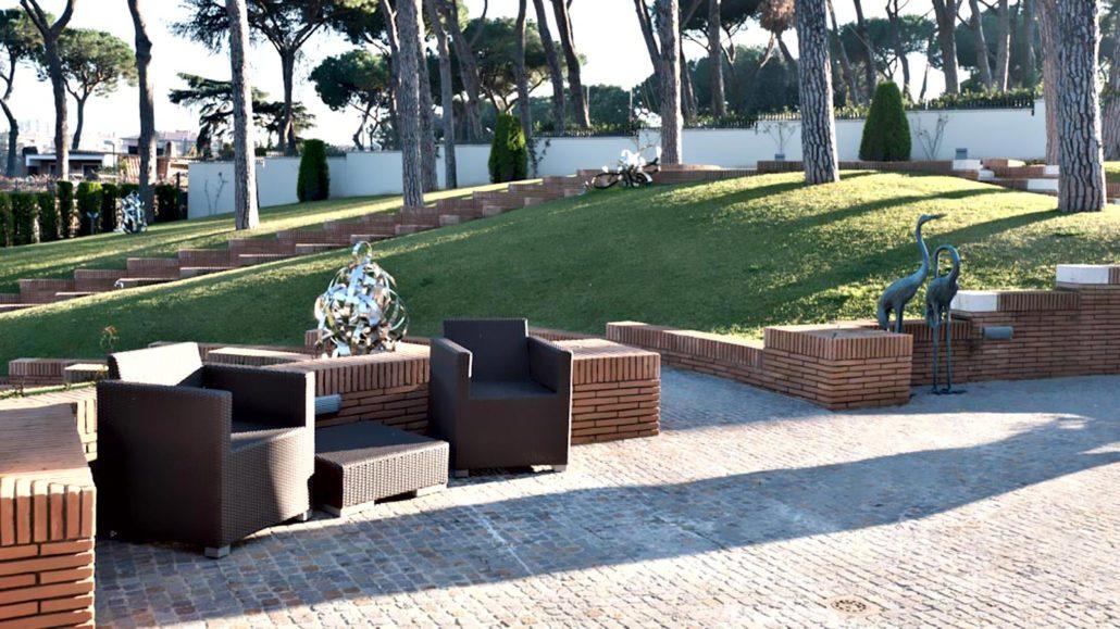 Ikonos Arredi Esterni Design Roma Arredamento D